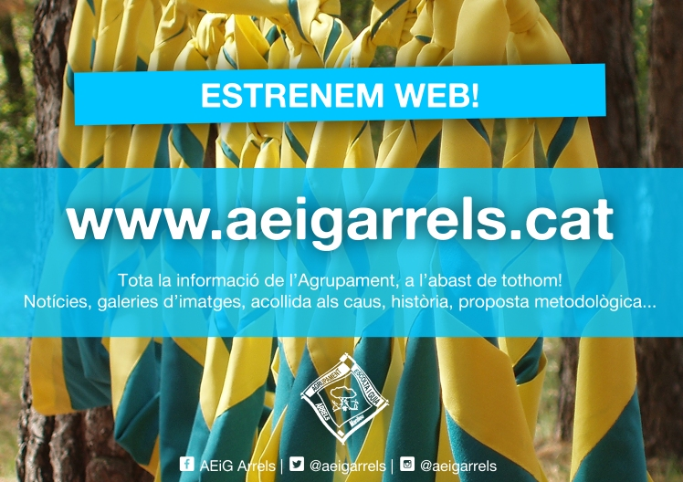 Estrenem web copy